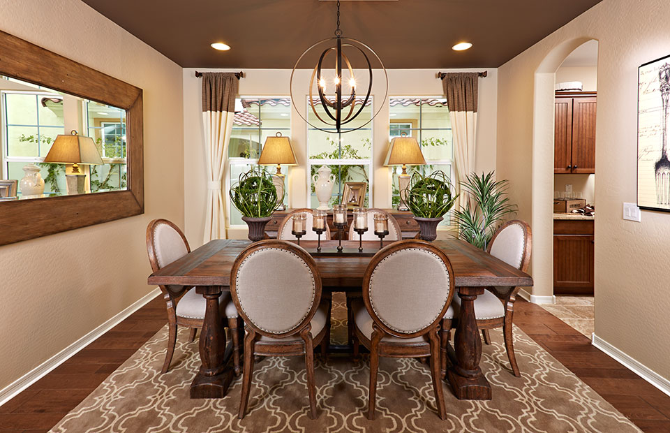 Dining Room in Ocotillo and Aster